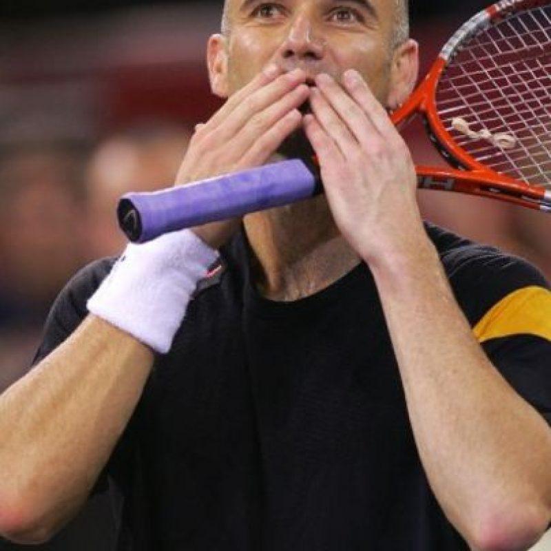 """Andre Agassi: En su libro autobiográfico """"Open: An Autobiography"""", el ex tenista confesó que en 1997 consumió la droga sintética metanfetamina, debido a la presión por una baja de su juego Foto:Getty Images"""