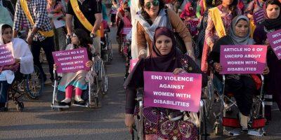 Las mujeres paquistaníes han luchado por sus derechos durante décadas. Foto:AFP