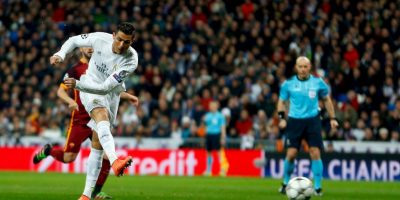Cristiano Ronaldo intentó marcar en el primer tiempo del partido de vuelta Foto:Getty Images
