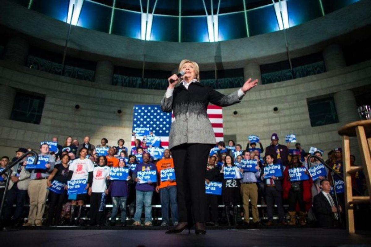 Sin embargo, Hillary Clinton logró posicionarse en en Mississippi con un 83 por ciento de los votos. Foto:AFP