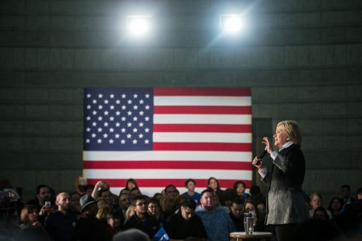 Siendo la favorita a la nominación presidencial Foto:AFP