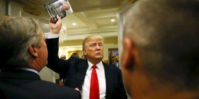 Sin dar marcha atrás a su polémica campaña. Foto:AFP
