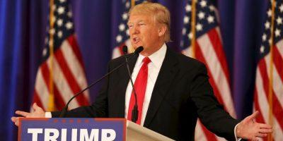 Donald Trump sigue liderando la contienda del Partido Republicano Foto:AFP