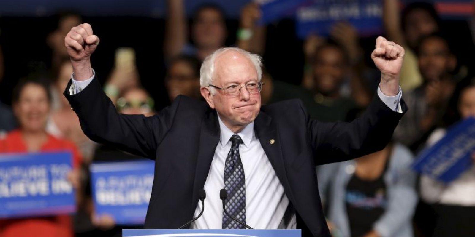 Bernie Sanders derrotó a Hillary Clinton con un 50 por ciento de los votos en el estado de Michigan Foto:AP