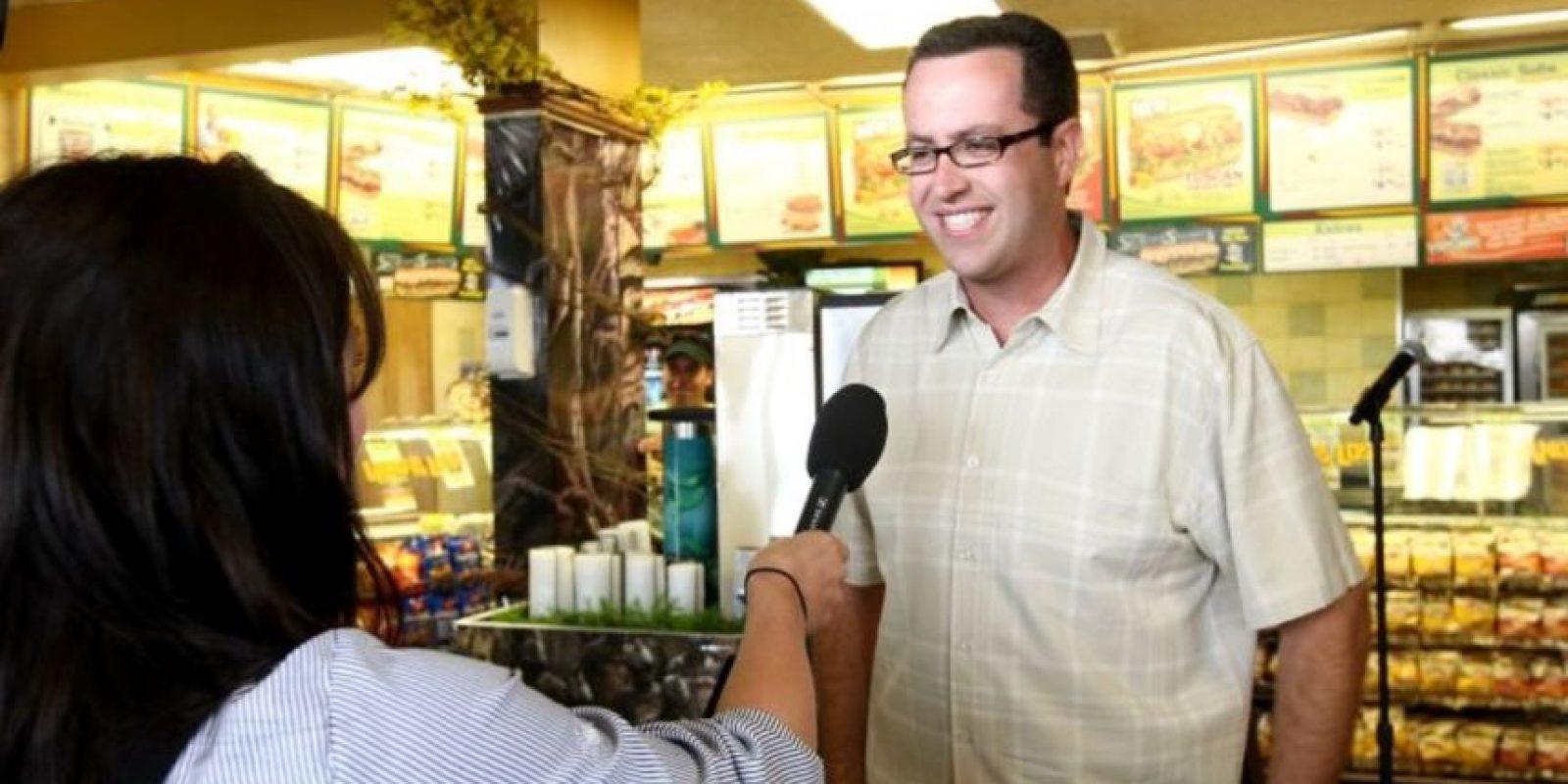 """En agosto de 2015, Jared Fogle, el conocido vocero de """"Subway"""", aceptó haber pagado por tener relaciones sexuales con menores de edad Foto:Getty Images"""