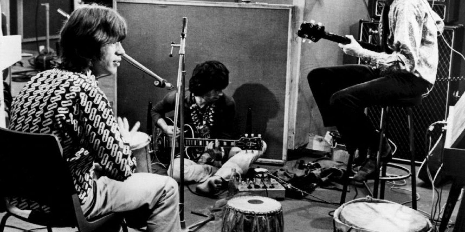 Desde 1997 ha grabado y realizado giras con su propia banda: Bill Wyman's Rhythm Kings. Foto:Getty Images