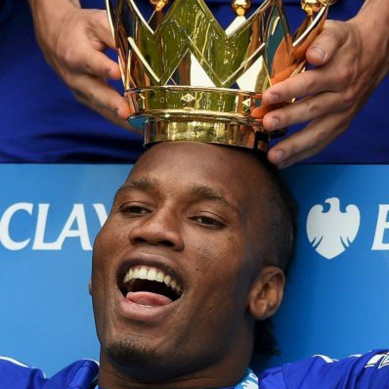 Drogba ganó cuatro Ligas Premier y una Champions League con el Chelsea Foto:Getty Images