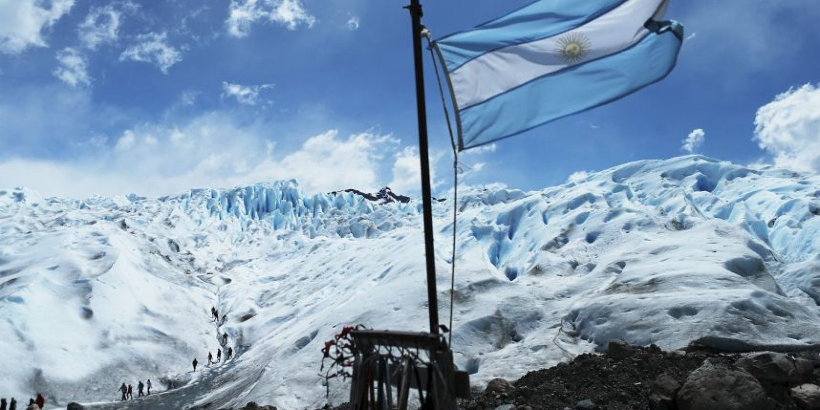 Se ubica dentro del Parque Nacional Los Glaciares. Foto:Getty Images