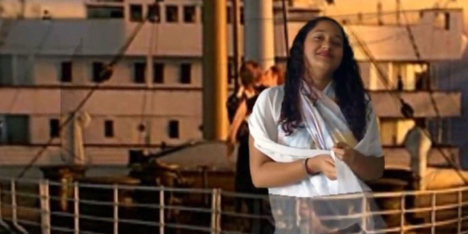 Tiene 20 años. Se define a sí misma como comediante. Foto:vía Youtube/Ramses Hatem