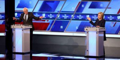 Ambos se enfrentarán en las primarias del próximo martes 15 de marzo Foto:AFP