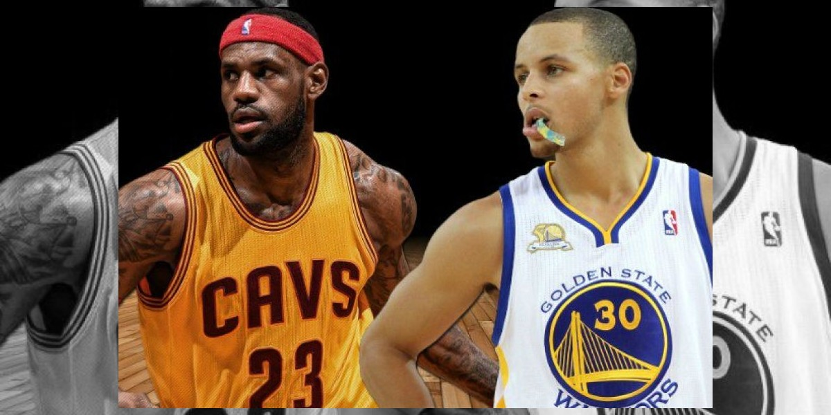 LeBron sale en defensa de Curry