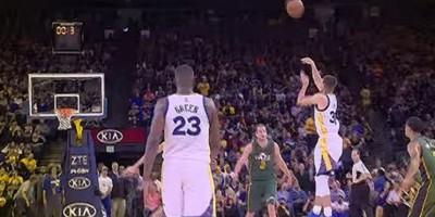 VIDEO: Stephen Curry y sus kilométricos disparos