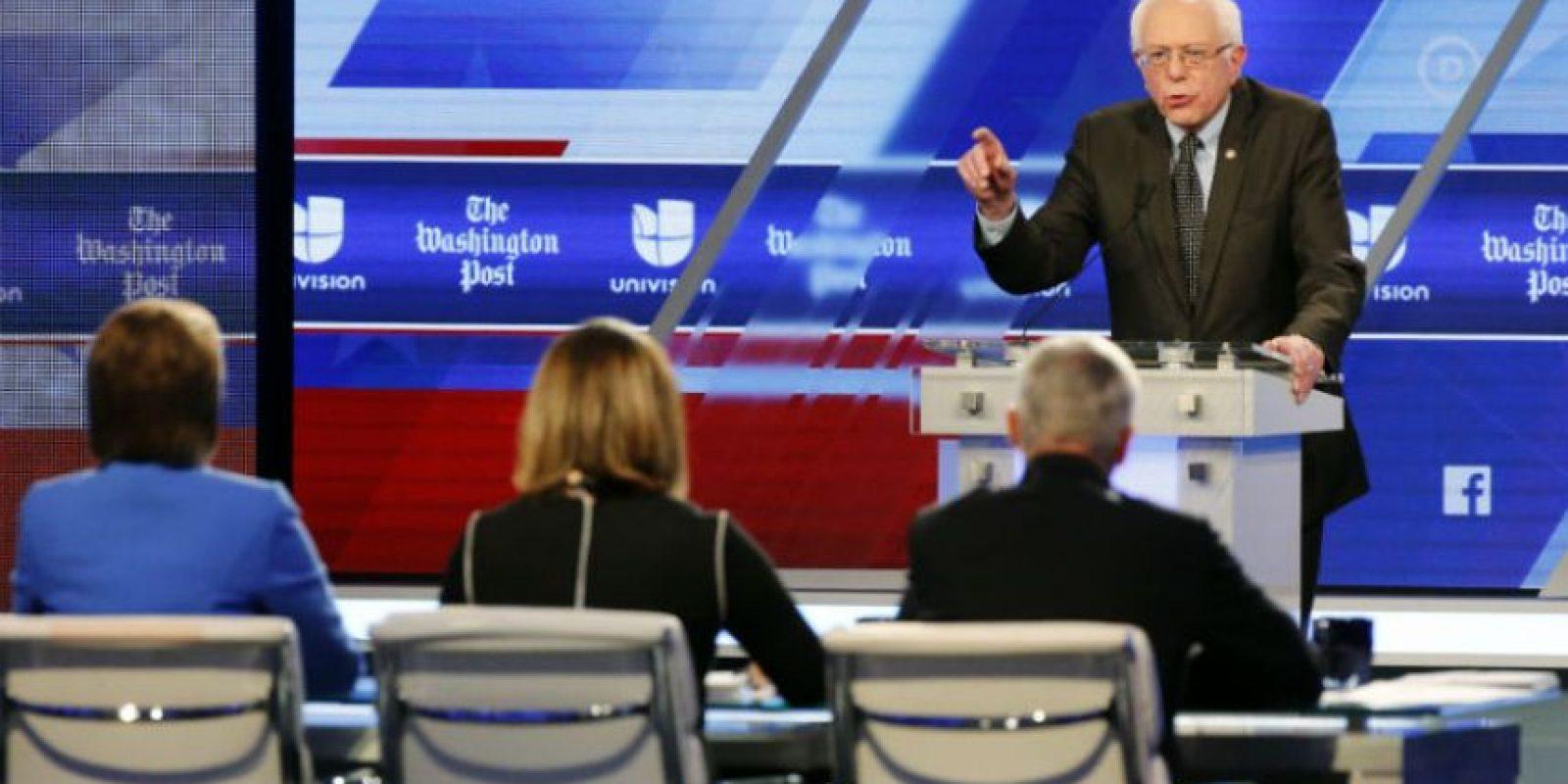 Mientras que Sanders solo ha ganado ocho estados. Foto:AP