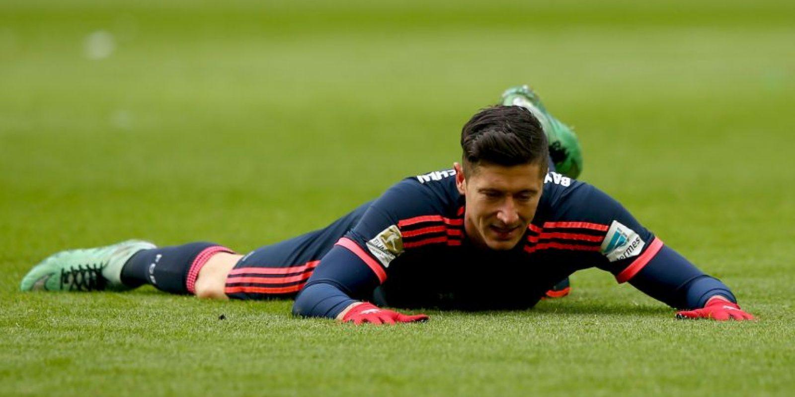 El polaco es el máximo anotador de la Bundesliga Foto:Getty Images