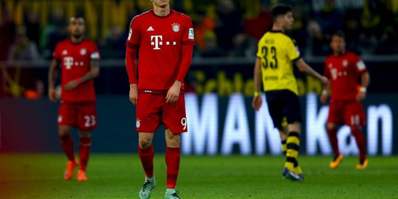 Y tiene a los bávaros en la cima de la Liga alemana Foto:Getty Images