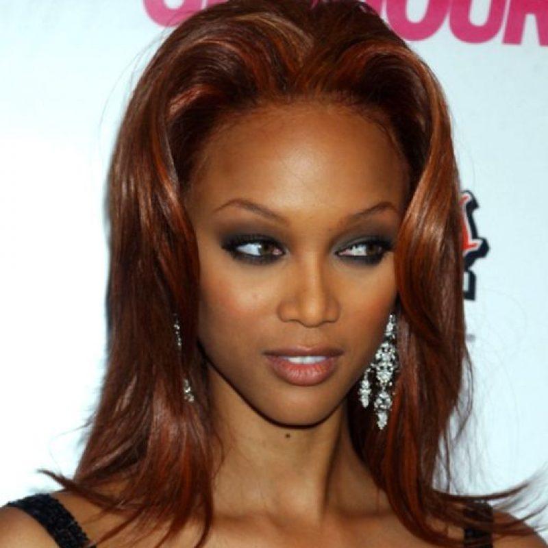 3. Colores rechinantes en el cabello, como Tyra Banks. Foto:vía Getty Images