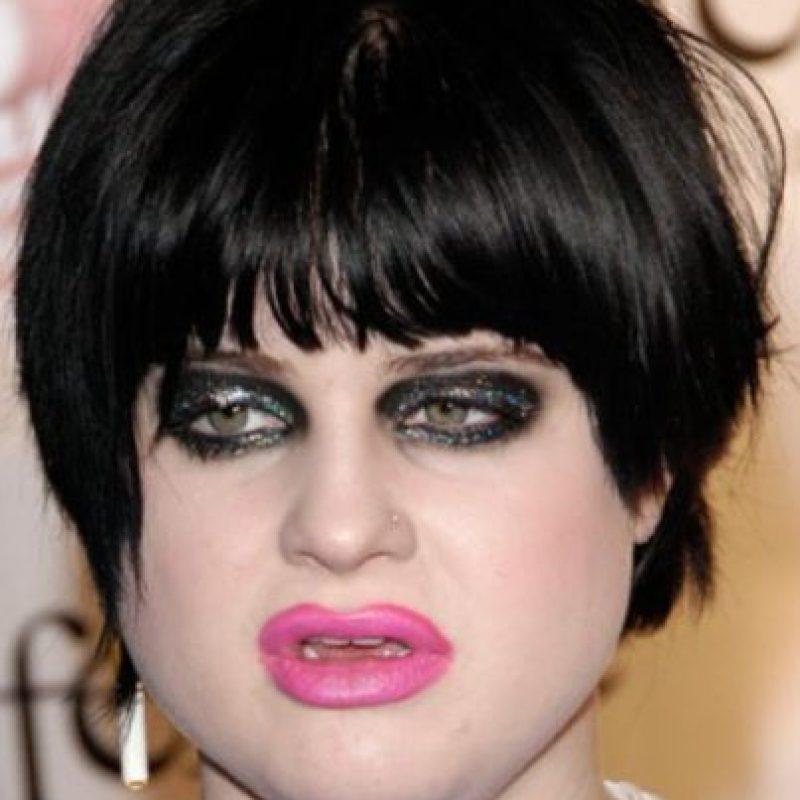 15. Maquillaje fuera de las líneas. Foto:vía Getty Images