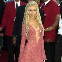 6. Christina Aguilera con rastas. Foto:vía Getty Images