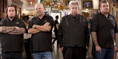 También están su hijo Rick y Corey, quienes heredarán la tienda. Foto:vía History Channel