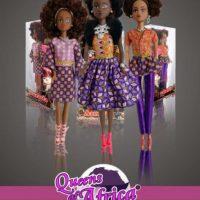 Queens of Africa fueron creadas por el nigeriano Taofick Ockoya, que no encontraba una Barbie negra para su hija. Foto:vía Facebook/Queensof Africa