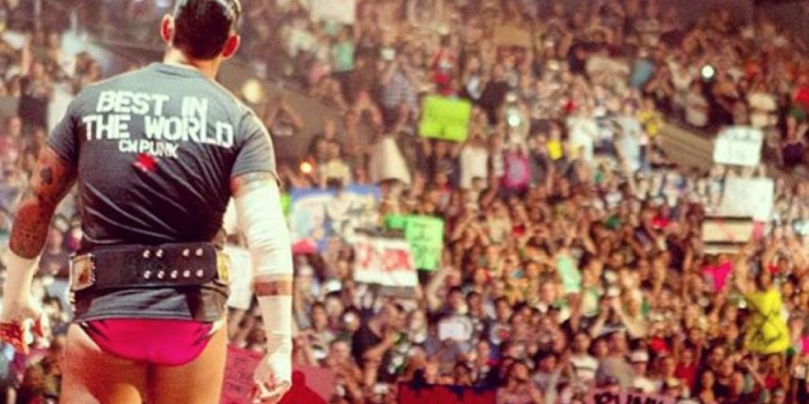 Formó parte de WWE de 2005 a 2014 Foto:Vía instagram.com/cm.punk.ufc/