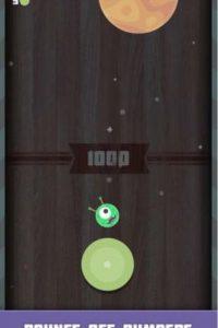 Bumper Jump es un divertido juego en el que deben llevar a un pequeño alien de vuelta a casa. Foto:Gnarcade LLC