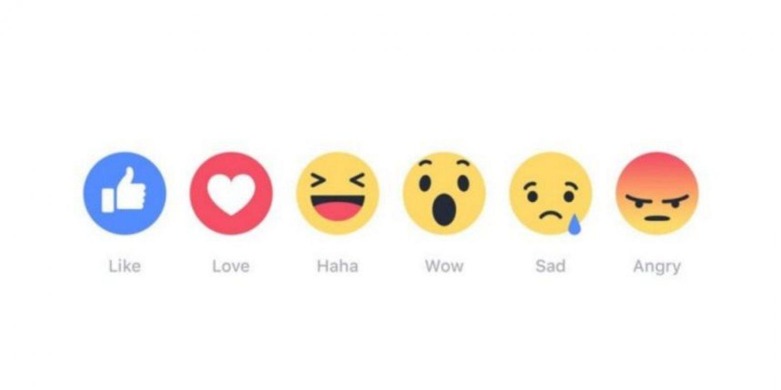 Estos son los recientes Reactions de la red social Foto:Facebook