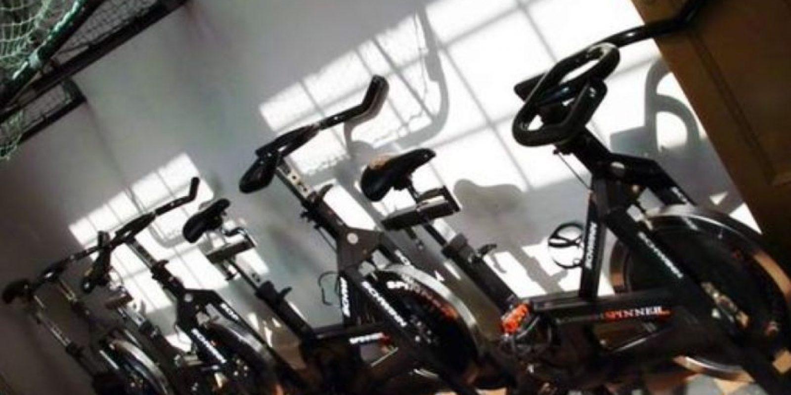 Al parecer la prisión Bastoy tiene un gimnasio bien equipado. Foto:Pinterest