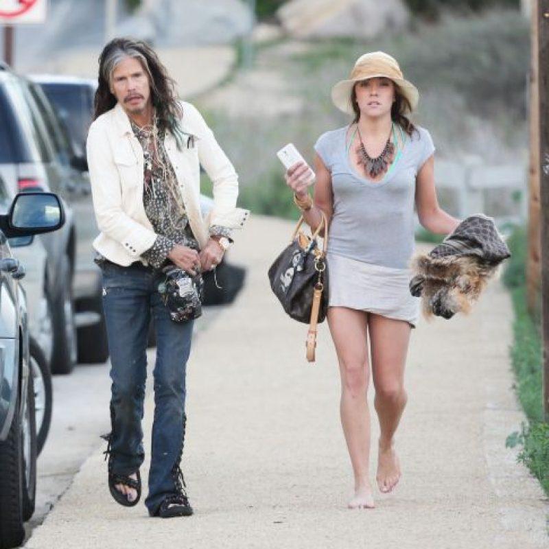Steven y su novia Aimee Foto:Grosby Group
