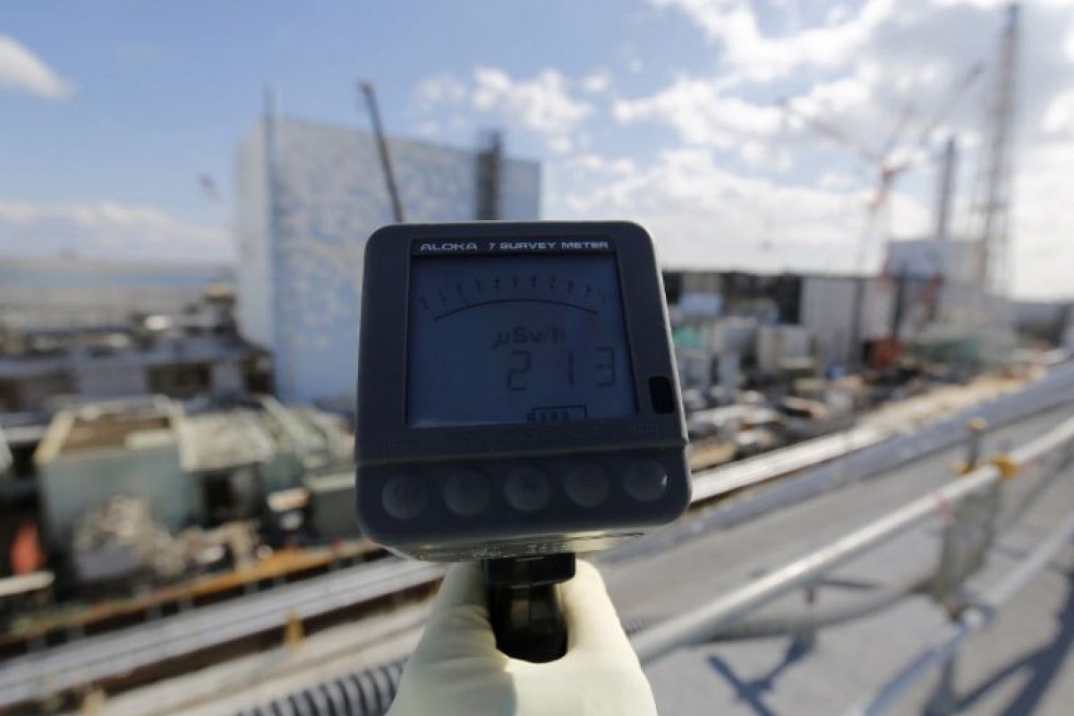 Y la liberación de radiación. Foto:AFP