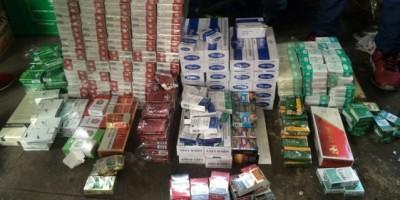 Desmantelan depósito de mercancías de contrabando desde Haití