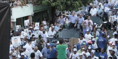 Luis Abinader y Carolina Mejía encabezarán marchas del PRM este fin de semana