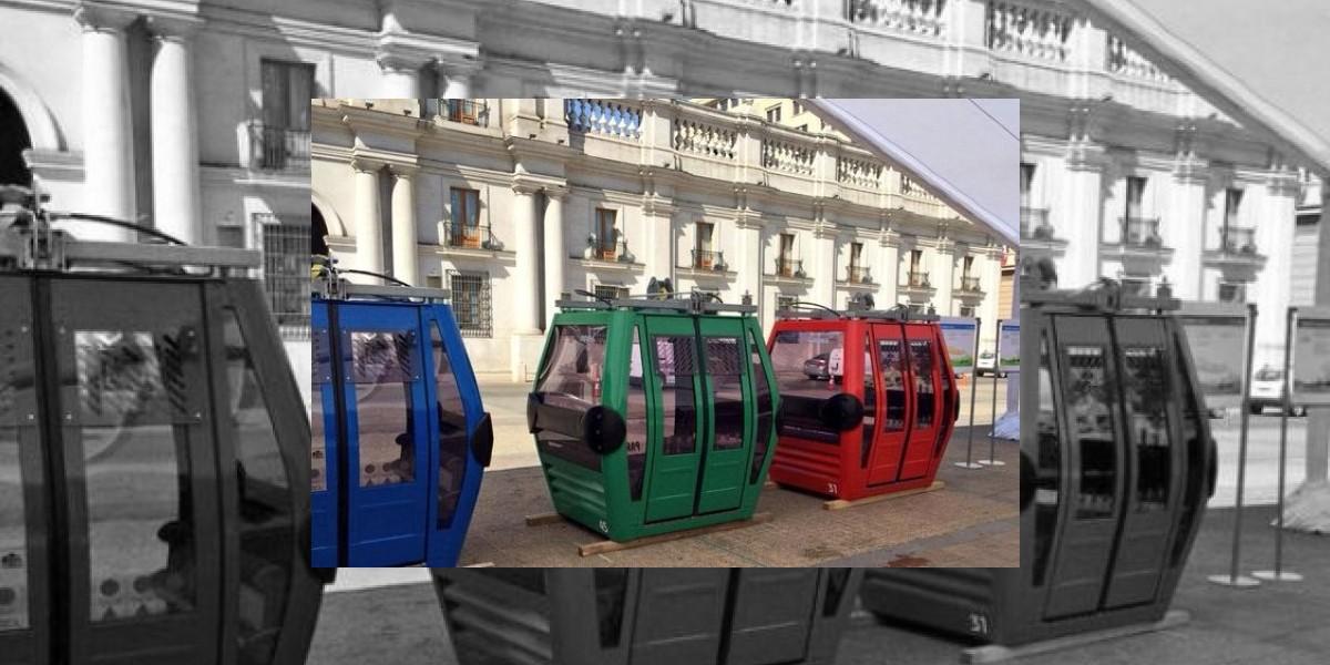 Teleférico con porta bicicletas, la nueva obra de Michelle Bachelet en Chile