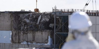 Accidente nuclear en Fukushima. Foto: AFP