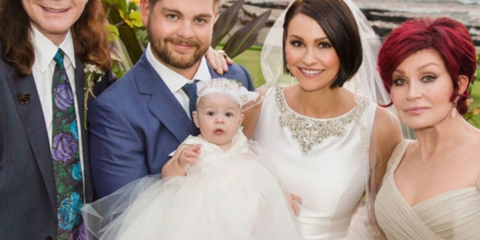 Se casó con su novia Lisa Stelly. Foto:vía Hello Magazine