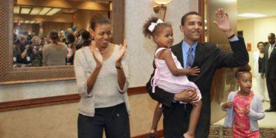 Así fue el debut de las hijas de Barack Obama en las cenas oficiales