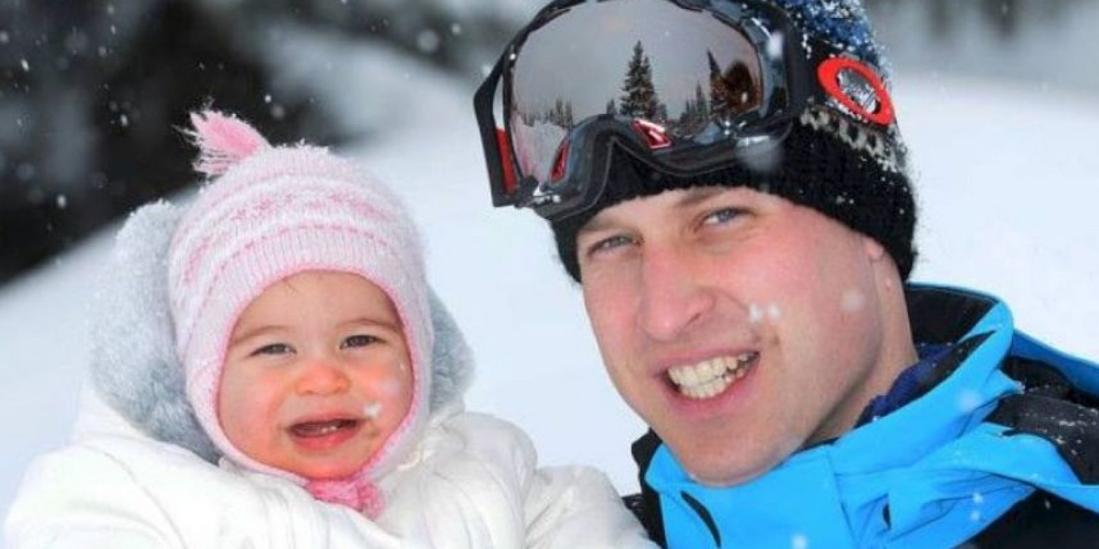 Recientemente se presumieron sus dos primeros dientes. Foto:Facebook.com/TheBritishMonarchy