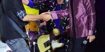 Los Rolling Stones invitaron a este latino a compartir el escenario
