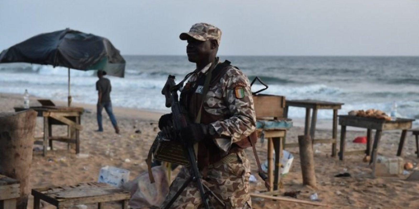 Atentados contra hoteles en Costa de Marfil Foto:AFP