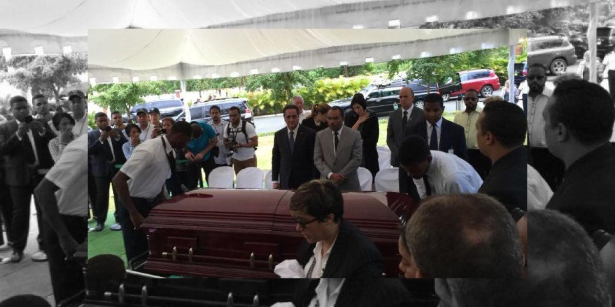 Sepultan restos de Mateo Aquino Febrillet