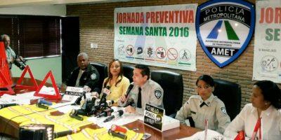 Tres mil agentes de Amet estarán en las calles durante Semana Santa