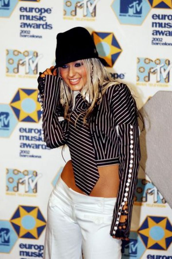 Toda Christina Aguilera. Foto: vía Getty Images