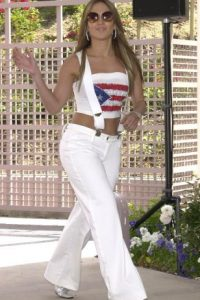 "JLo cuando era ""Jenny from the Block"". Foto: vía Getty Images"