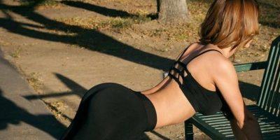 """La """"Chica del Clima"""" comparte su rutina de ejercicios en Instagram La """"Chica del Clima"""" comparte su rutina de ejercicios en Instagram Foto:Vía instagram.com/iamyanetgarcia"""