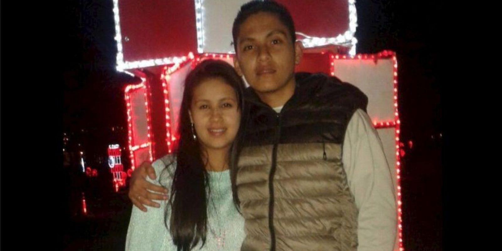 Ellos son la pareja que buscan a Sandra Foto:Vía facebook.com/grant.robinson.752