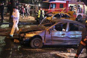 Se desconoce si la explosión se trató de un ataque suicida. Foto:AFP