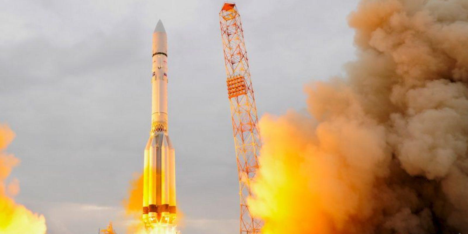 Fue lanzado el proyecto espacial ExoMars 2016 Foto:Getty Images