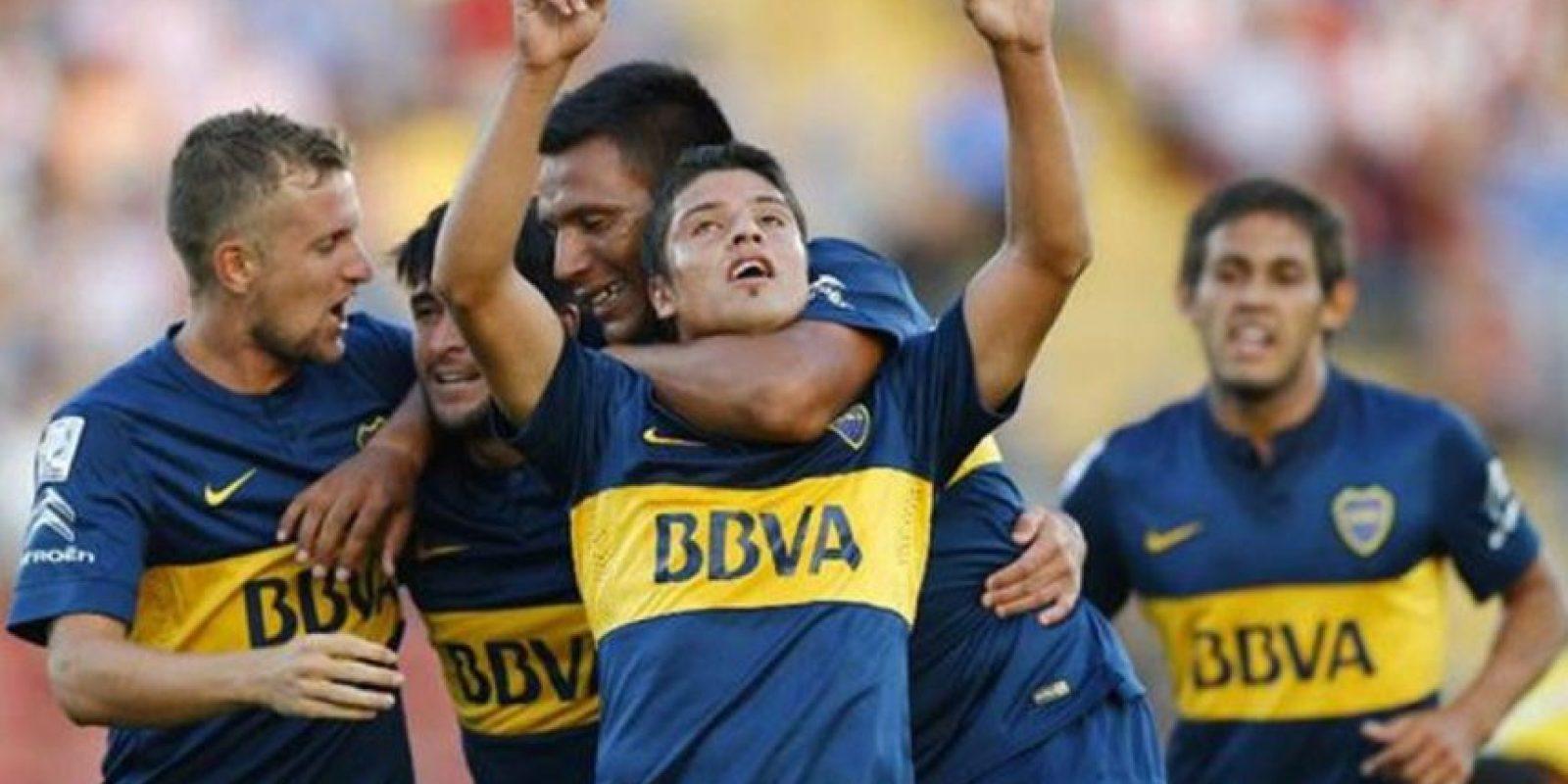 El afectado es Sebastián Palacios Foto:Boca Juniors