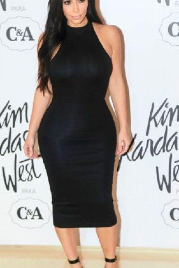 En cambio este vestido body conscious deja todo en su justa proporción. Foto:vía Getty Images