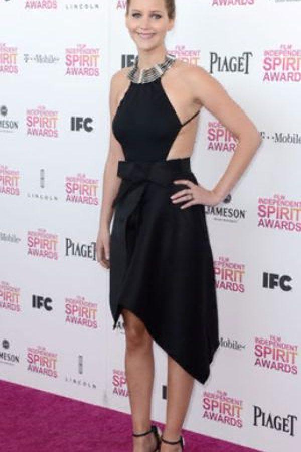 O con este little black dress. Foto:vía Getty Images